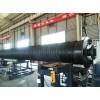 洛阳1.4米钢带pe波纹管地埋排污管
