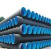 大口径HDPE双壁波纹管 市政专用PE排污管